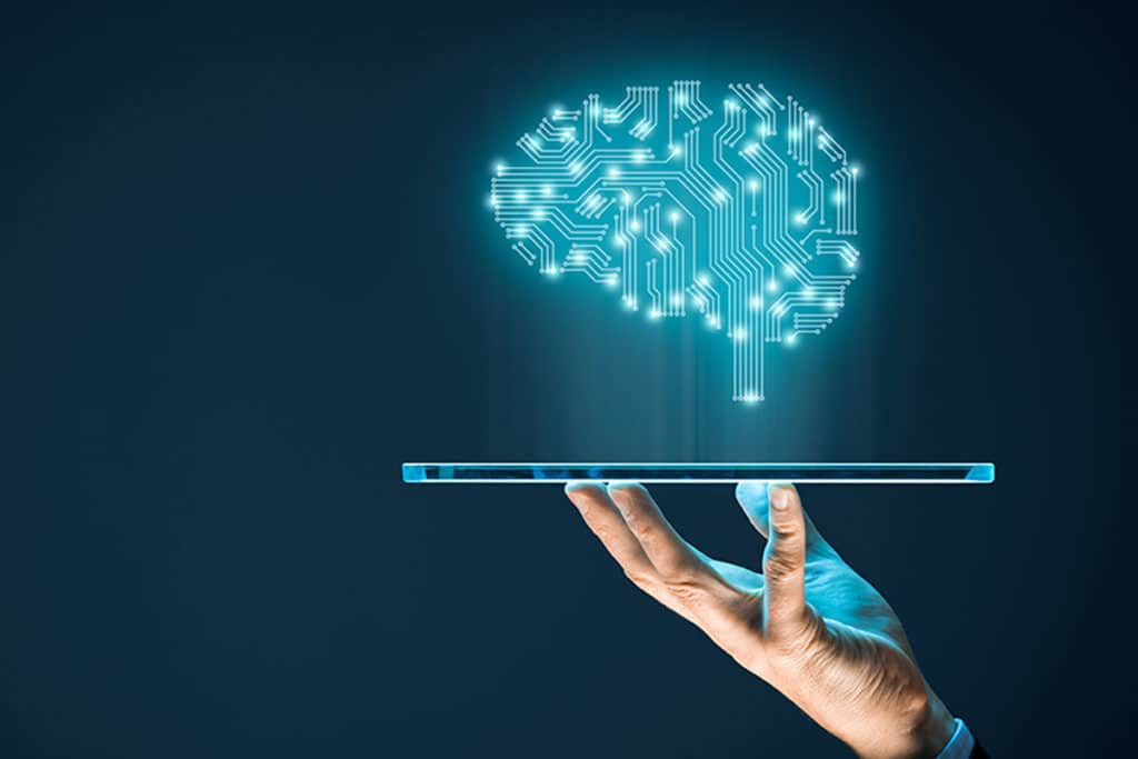 Machine learning iPad and digital brain